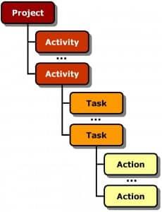 De projectorganisatie: stuurgroep, projectgroep, werkgroep